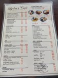 Lydia's Cafe Menu in Kinarut
