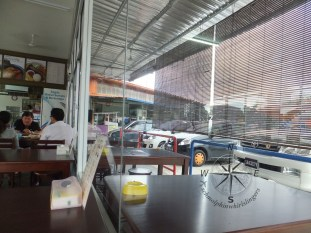 Lydia's Cafe in Kinarut Indoor and Outdoor Seatings
