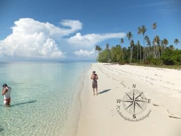 Left Side View of Sibuan Island, Semporna Island Hopping