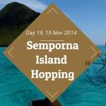Semporna Island Hopping
