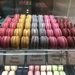 Macarons.sg choices of eye-catching coloured and various flavours close-up 4