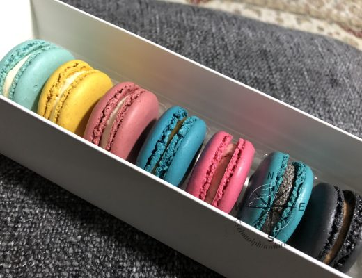 Our 1st set of Macarons choices from Macarons.sg