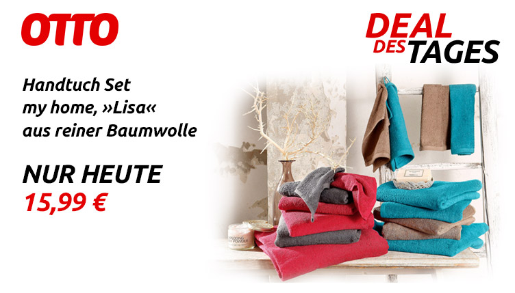 Otto Deal des Tages - Handtuch Set