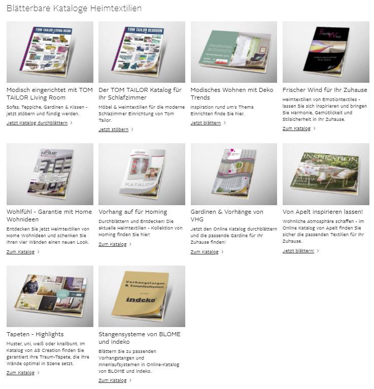 OTTO Online Kataloge