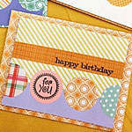 Birthday Card With Circles