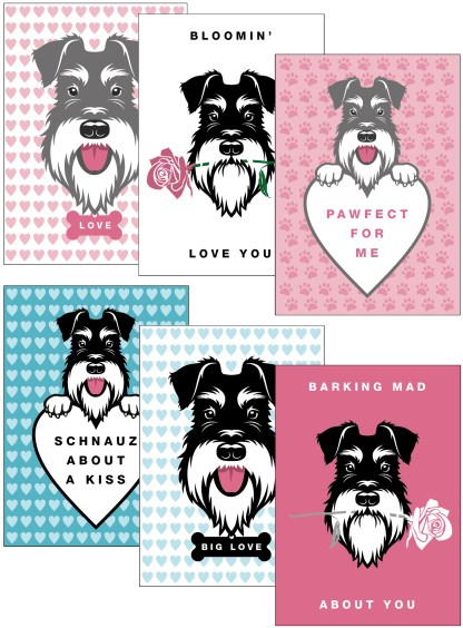 Mixed pack of Lovely Faces cards