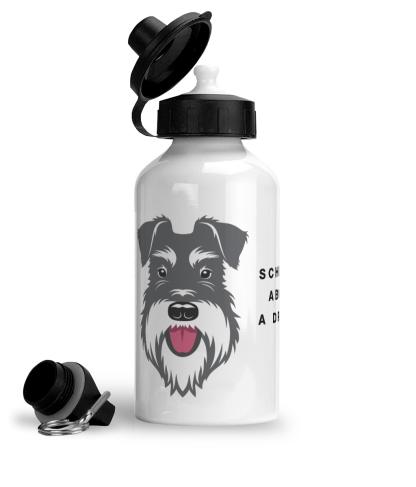 Salt & Pepper water bottle big face
