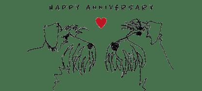 happy anniversary mug full sketch