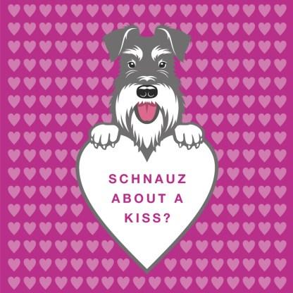salt and pepper schnauz about a kiss?