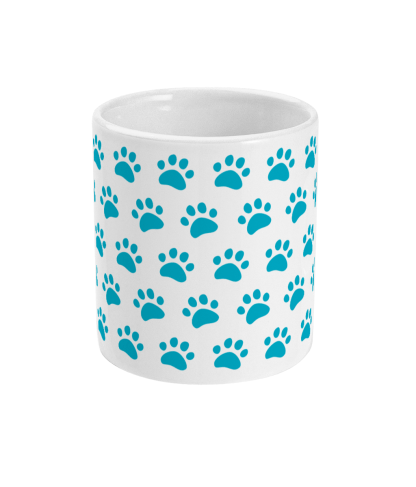 Mug-blue-paws-centre side-mockup