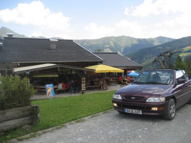 Ford Escort auf der Heimalm in Rauris #MeinErstesAuto