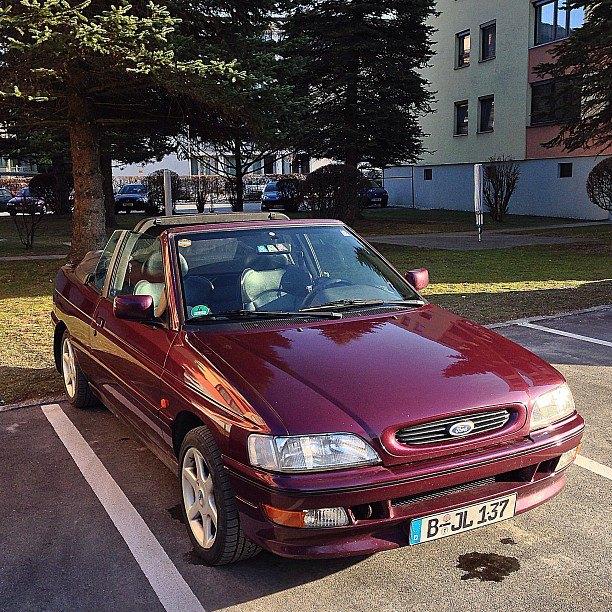 Ford Escort xr3i offen #MeinErstesAuto