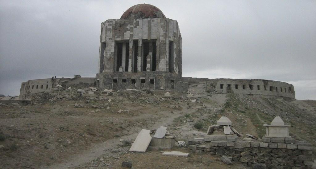 Das Königsgrab in Kabul 2006