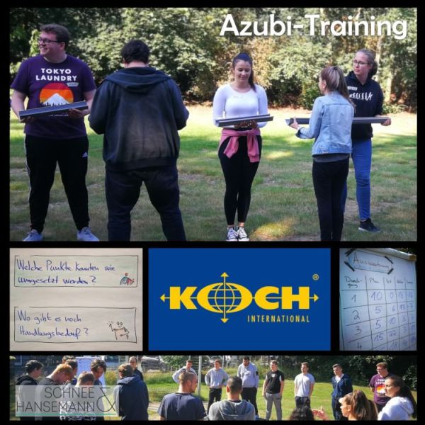 Azubi-Training mit KOCH International