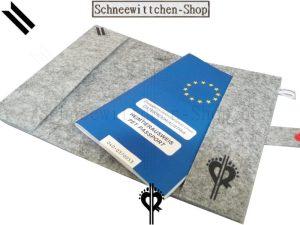 ZÜCHTER EU-Heimtierausweise für Boxer | Hundepasshüllen mit ihrem ZÜCHTER LOGO |
