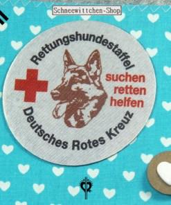 DRK Rettungshundestaffel XXL Hülle für das Dienstbuch und 3 EU-Heimtierausweise