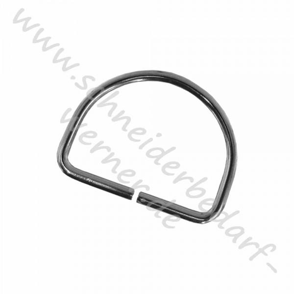 Metallhalbringe Für Gurtband D Ringe