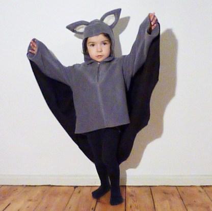 Kostüm für Kinder Fledermaus
