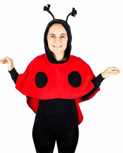 Kostüm Marienkäfer für Karneval