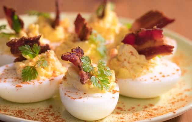 BBQ Eier nach schnellmalgekocht