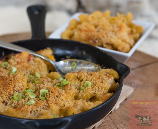 Baked Mac´n Chili Cheese