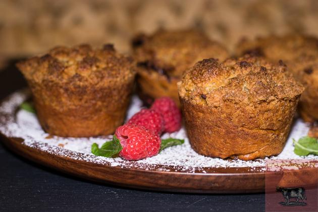 Beeren Puddingschnecken Muffins