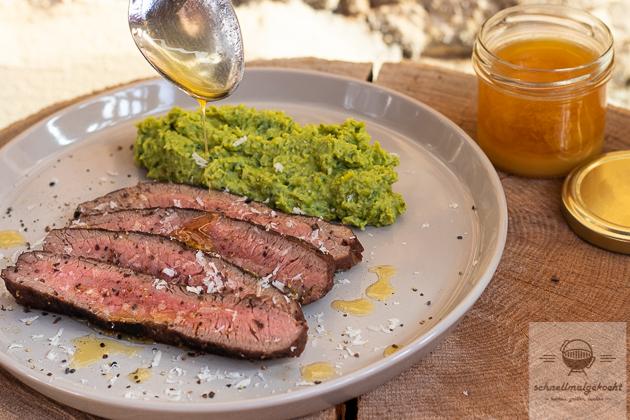 Steak mit Kaffeebutter Sous Vide