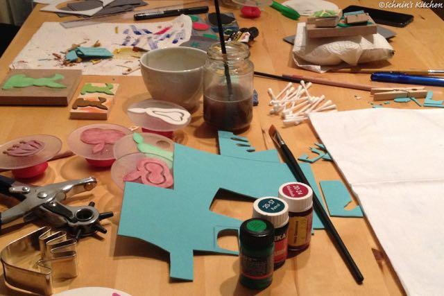 Schnin's Kitchen: Binedoro DIY Stempel Workshop