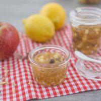 Apfelstrudelmarmelade kochen - Herbst im Glas