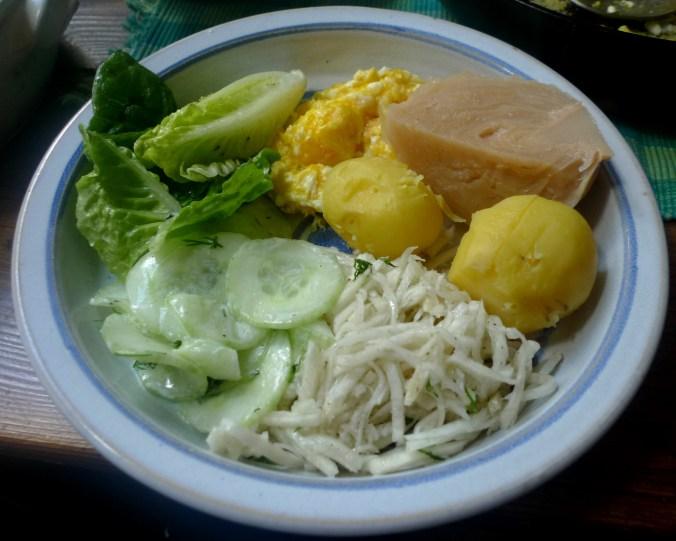 28.10.2012-Salate-Rührei-Fuschenkraut