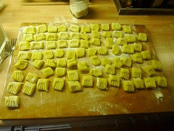 Gnocchi mit Tomatensoße-31.8.14   (12)