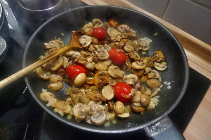 Gemüsepfanne-Reis-Champignon - 13.10.14   (13)