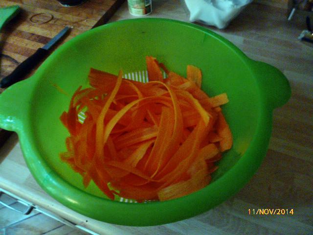 Karotten,Linsen,Rosenkohlsalat- 11.11.14   (4)