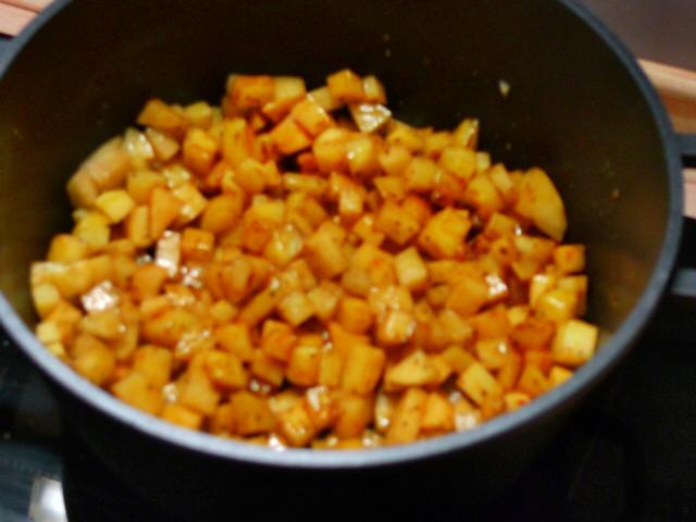 Chicoree,Kartoffeln,gebackener Feta (11)