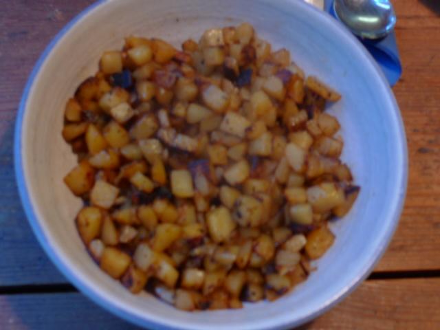 Chicoree,Kartoffeln,gebackener Feta (21)