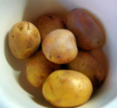 Chicoree,Kartoffeln,gebackener Feta (4)