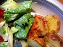 8.1.16 - Kartoffelgratin,Pak Choi,Endiviensalat,vegetarisch (17)