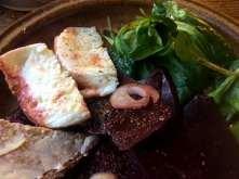 13.2.16 - Grünkernsuppe,Rote Bete,Büffelmozerella,Feldsalat,vegetarisch (15)