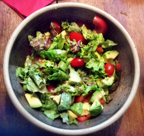 19.2.16 - Marinierter Hering,Kartoffeln,Salat (3)