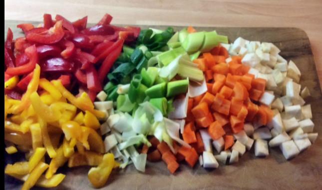 12.3.16 - Kichererbsen-Gemüse Eintopf,Indische Art,vegan (8)