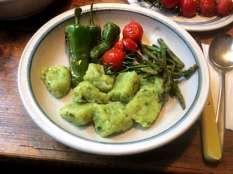 23.3.16 - Gnocchis,grüner Spargel,Pimientos,Tomaten (15)