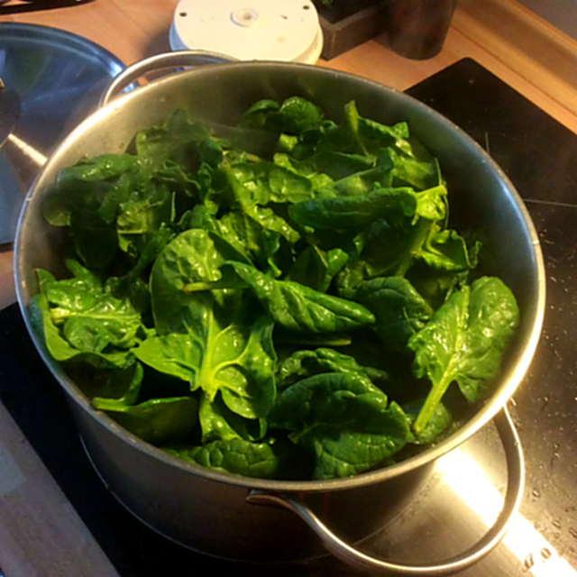 24.3.16 - Spinat,Rührei,Kartoffel,vegetarisch (1)