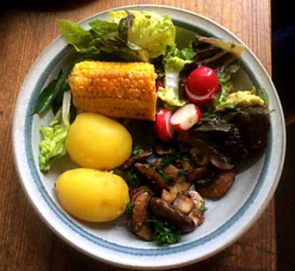 Champignon,Mais,Salat,Kartoffel (1)