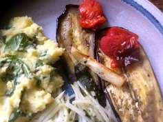 25.4.16 - Ofengemüse,Kartoffelstamp mit Löwenzahn,Kohlrabisalat (15)