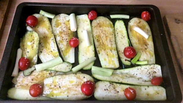 25.4.16 - Ofengemüse,Kartoffelstamp mit Löwenzahn,Kohlrabisalat (3)