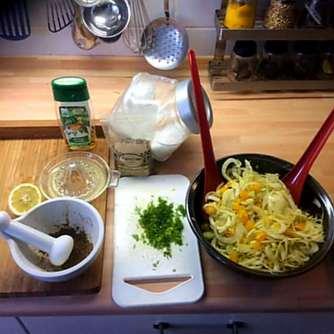 29.4.16 - Kartoffelgratin,grüner Spargel,Fenchelsalat (12)