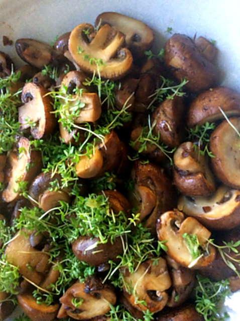 8.4.16 - Champignon,Frikadellen,Salat,Kartoffeln   (2)