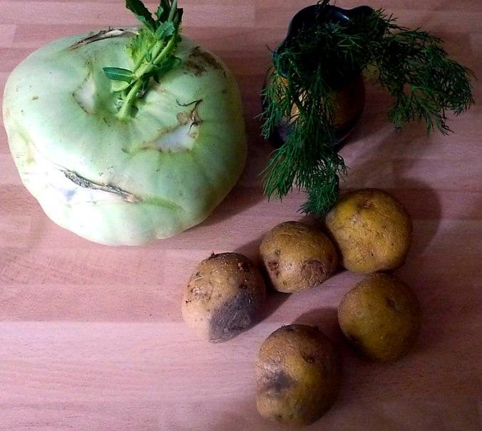 21.6.16 - Kohlrabigemüse,Kartoffeln (2)
