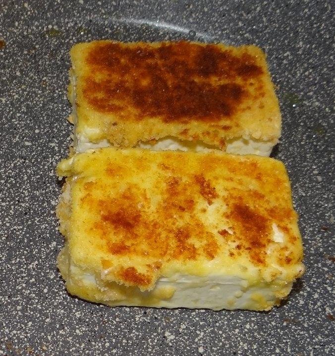 Gebackener Feta,Ofenkartoffel,Pimientos,Gurkensalat,Walleln (8)