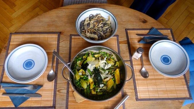 Gemüse Allerlei,Nudel Mix,vegetarisch (3)